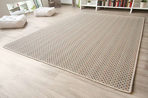 Designer-Teppich-Modern-Friesland-Sisal-Optik-in-Bunt-Gre-66x130-cm
