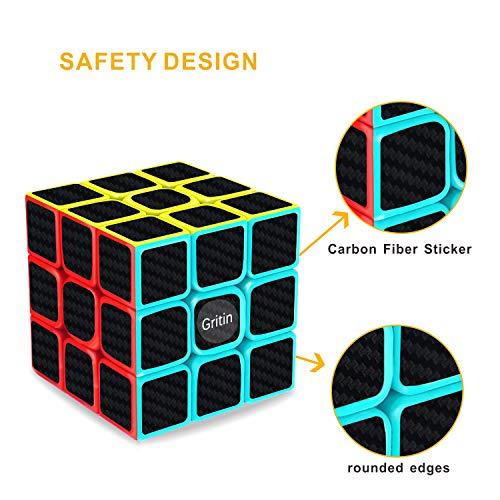 Zoom IMG-2 gritin cubo magico 3x3 smooth