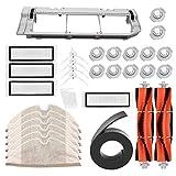 31-teiliges Set Bürsten + Filter + Mop Tücher für Xiaomi/Mijia/Roborock S50 Staubsauger