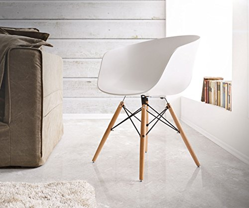 stuhl lissabon matt weiss massivholz gestell schwarz esszimmerstuhl smash. Black Bedroom Furniture Sets. Home Design Ideas