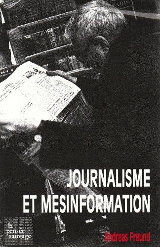 Download Journalisme et mésinformation