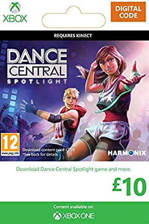 Xbox Live £10 Gift Card: Dance Central Spotlight [Online Game Card]