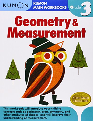 Grade 3 Geometry & Measurement (Kumon Math Workbooks)