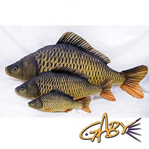 GABY Fish Pillows Dekoratives Kissen in Form eines echten Fisches, Mini Gemeine Krabbe