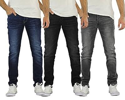 Mens Jeans Firetrap Denhoff Skinny Stretch Denim Pants