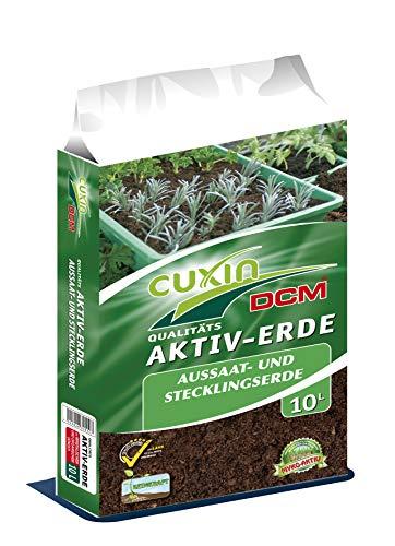 Anzuchterde 10-50l alle Gemüse- & Kräuterpflanzen Aussaaterde 100 Tage Dünger 10 L