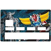 Sticker pour carte bancaire, Tribute to GOLDORAK édition limitée 100 ex. - Différenciez et décorez votre carte bancaire…