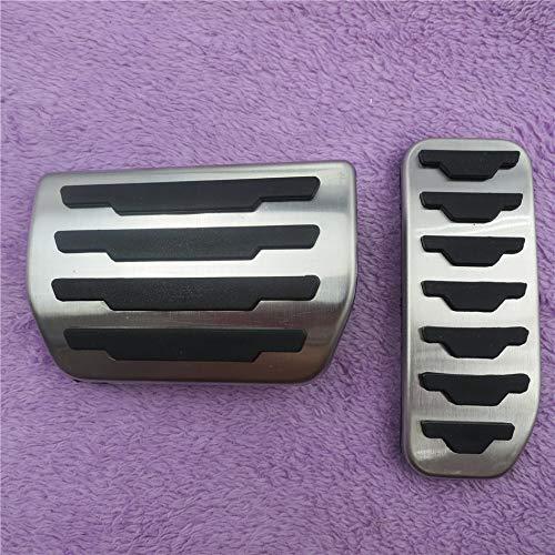 QCTBCSB Pastiglie pedaliera Freno acceleratore di Alta qualità, per Range Rover Evoque AT, Copri Pedale Antiscivolo per Benz