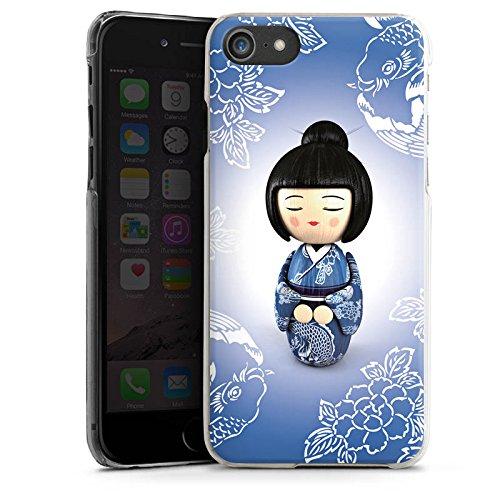 Apple iPhone X Silikon Hülle Case Schutzhülle Koi Kokeshi Puppe Asien Hard Case transparent