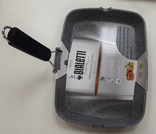 Bialetti 0B7GR034 Grill pan Rectangular frying pan - Frying Pans (Rectangular, Grill...