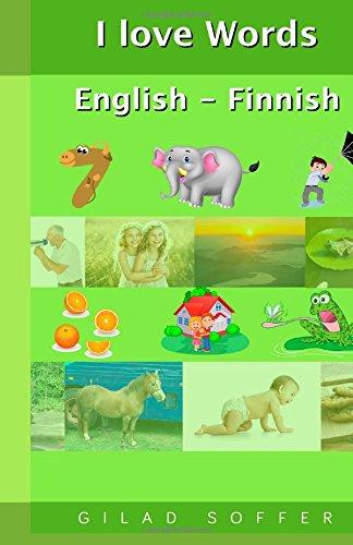 I Love Words English - Finnish