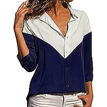 Camiseta de Manga Larga para Mujer, BBestseller Ropa Camisetas Mujer, Mujeres Ocasionales De Camisa