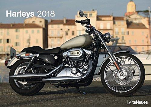 Harleys 2018 - Motorradkalender, Harley Davidson Kalender, Fotokalender, Wandkalender - 29,7 x 42 cm