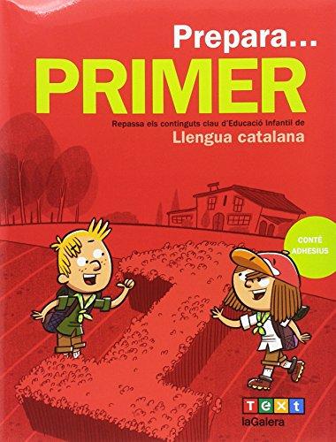 Prepara... Primer. Llengua catalana (Quaderns estiu) - 9788441230132