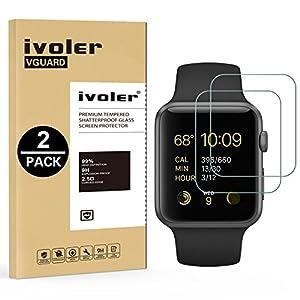 iVoler Apple Watch Panzerglas Schutzfolie