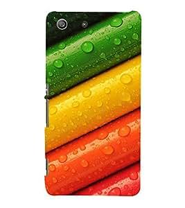 Fuson Premium Printed Hard Plastic Back Case Cover for Sony Xperia M5