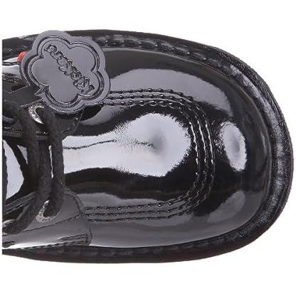 Kickers Women's Kick Hi' Ankle Boots, Black (Black Patent), 8 UK 8