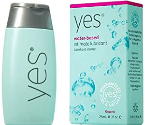 YES original organic water-based intimate lubricant & moisturiser - 25ml