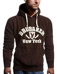 BRUBAKER N.Y. Eagle Sweat-shirt à capuche Homme