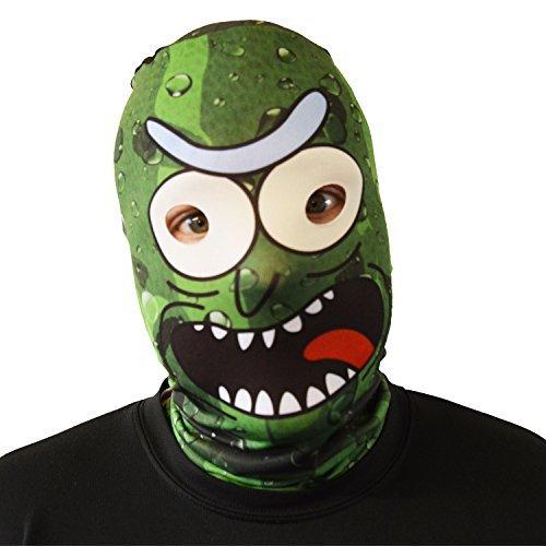 gruselig Halloween Gesichtsmaske Eingelegte Baba Yaga Gesicht Skin Design Kostüm Horror