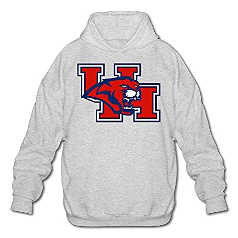 minloo Frêne L Université de Houston-UH Logo Pull pour homme - noir - S