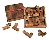 ROMBOL Spiel des Lebens - edles Denkspiel für langanhaltenden Spielspaß mit praktischem Verschlussband