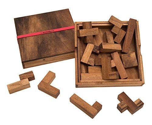 ROMBOL Spiel des Lebens - edles Denkspiel für langanhaltenden Spielspaß mit praktischem Verschlussband (Denksport-spiele Für Erwachsene)