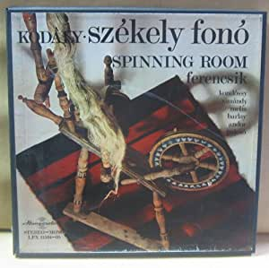 Kodaly Szekely fono Spinning Room ferencsik komlossy simandy melis barlay (Vinyl LP) Janos Fenencsik