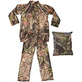ProClimate Childrens Waterproof Camouflage Rain Suit