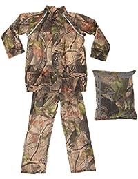 ProClimate - Conjunto de dos piezas para la lluvia de camuflaje impermeable para niños