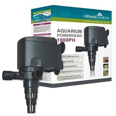 All Pond Solutions JP-023 Aquarium Powerhead Water Pump, 1000 Litre/ Hour Flow Rate