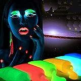 Global Brands Online Fluoreszenz Dekorationen Glow In Dark Körper Kunst Farbe Leuchtende Acryl Leuchtende Farbe Tattoo Body Art