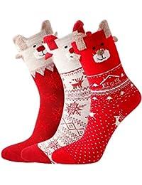 AIDEAONE calcetines de algodón calcetines térmicos mujer Calcetines ...