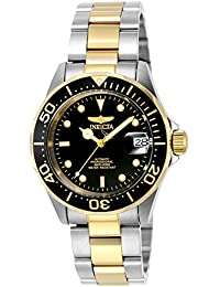 Invicta Pro-Diver Analog Black Dial Men's Watch - 8927
