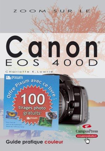Canon EOS 400D zoom sur + bon pixum