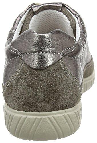 Gabor Comfort, Sneakers Basses Femme Gris (argento/peltro 98)