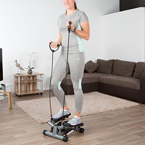 Ultrasport Swing Stepper, Twister, Ministepper inkl. Trainingsbändern - 7
