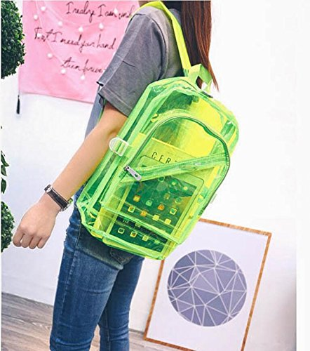 CC*CD, Borsa a zainetto donna Pink 28x15x38cm Green