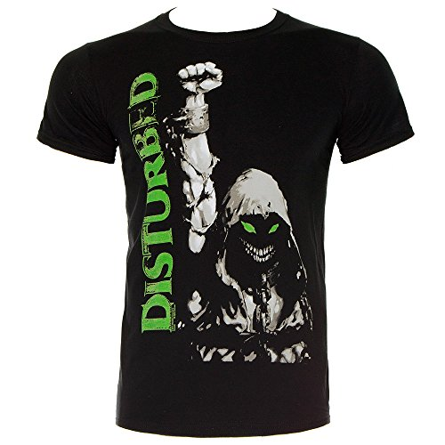 Disturbed Up Your Fist Glow T-Shirt nero S