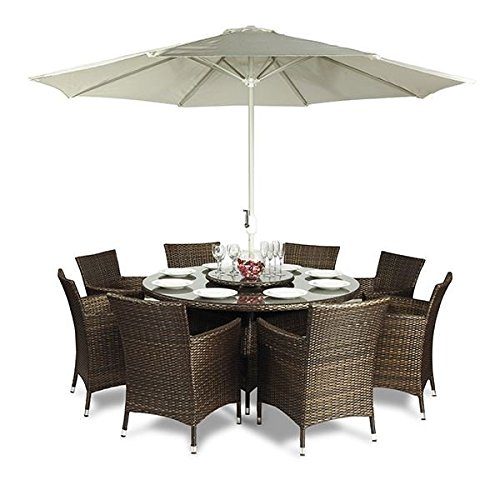 Outdoor Patio Furniture Sale Amazon: Round Garden Table And Chairs: Amazon.co.uk