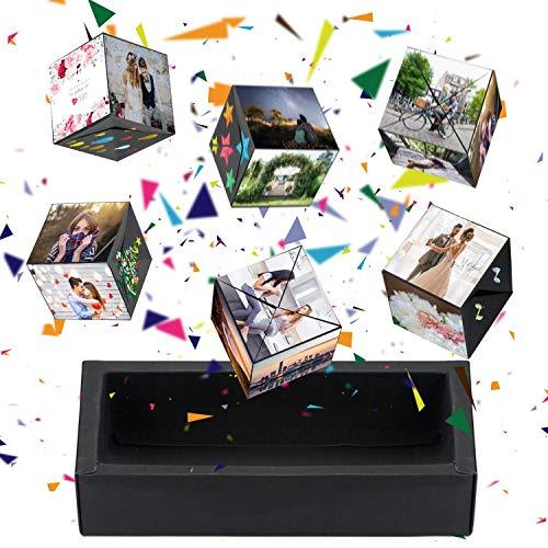Aokebeey Kreative Pop Up Box Explosions-Box DIY Geschenkebox, Bouncing Box und Handgemachtes Scrapbook, Fotoalbum Zubehör Jahrestag Valentine Hochzeit...
