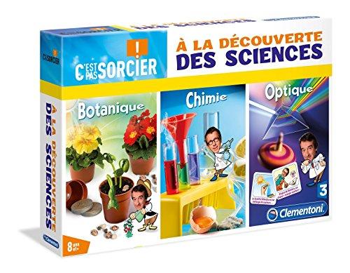 Clementoni - 52036.7 - Jeu Scientifique - À La Découverte Des Sciences