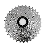 MagiDeal Fahrrad Freilauf Schraub Ritzel Zahn Kranz 9 fach