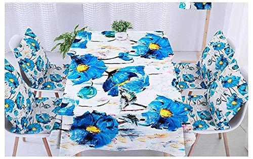 Home Plante Nappe Art Tissu Coton et Lin Petit Frais Salon Créatif Table Basse Imperméable Nappe de fête