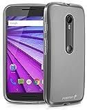 Motorola Moto G (3ª generación) 2015 funda - Fosmon [DURA-FRO] (Slim Fit) flexible TPU Cubierta de Carcasa de para Motorola Moto G (3rd Gen, 2015) - Fosmon Empaquetado (Claro)