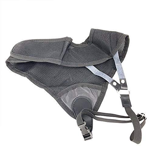 Aprettysunny Brustschutz für Bogenschießen, robust, Dunkelgrau