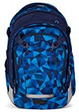 Satch Schulrucksack Match Blue Crush 9A2 blau polygon