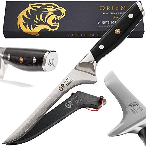 Orient Ausbeinmesser 15cm Damast Japanisch Stahl - Damastmesser