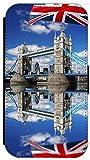 Flip Cover für Samsung Galaxy S3 i9300 / S3 Neo i9301 Design 470 London Tower Bridge Hülle aus Kunst-Leder Handytasche Etui Schutzhülle Case Wallet Buchflip Vorderseite Bedruckt mit Bild Rückseite Schwarz (470)