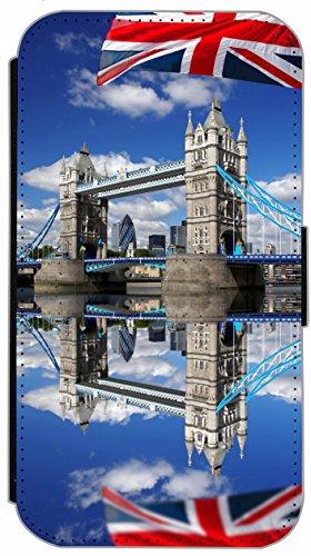 Flip Cover für Apple iPhone 6 / 6S (4,7 Zoll) Design 484 Pferd Hengst Schwarz Hülle aus Kunst-Leder Handytasche Etui Schutzhülle Case Wallet Buchflip mit Bild (484) 470